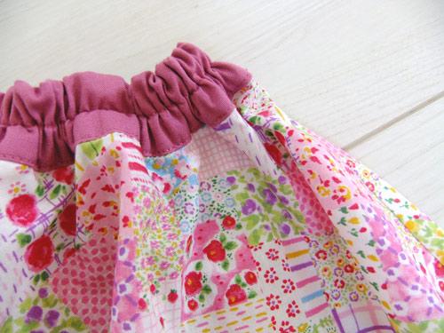 画像2: ふんわりサーキュラースカート ピンク 【110サイズ】