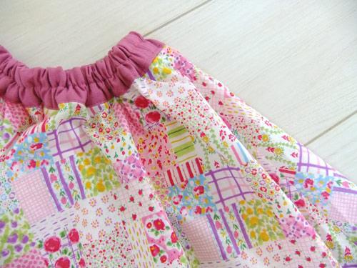 画像2: ふんわりサーキュラースカート ピンク 【120サイズ】